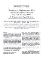 Treatment of 94 Outpatients
