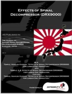 Effects of Spinal Decompressor (DRX9000)